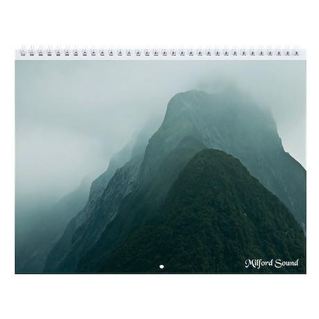New Zealand's South Island Wall Calendar