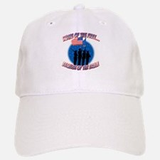 Home of the Free, Because of the Brave Baseball Baseball Cap