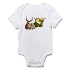 Deer Family Infant Bodysuit