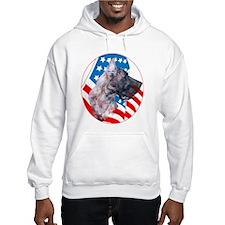 Dane with Flag Hoodie