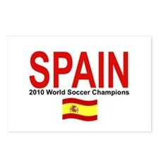 SPAIN WORLD CHAMPIONS Postcards (Package of 8)