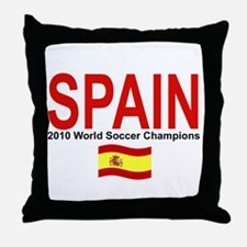 SPAIN WORLD CHAMPIONS Throw Pillow