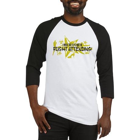 I ROCK THE S#%! - FLIGHT ATT Baseball Jersey