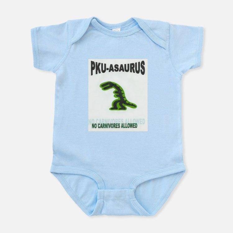 PKU-ASAURUS Apparel Infant Creeper