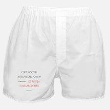 Top Secret Latin Boxer Shorts