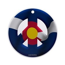 Colorado Ornament (Round)