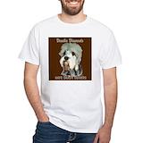 Dandie dinmont terrier Mens White T-shirts
