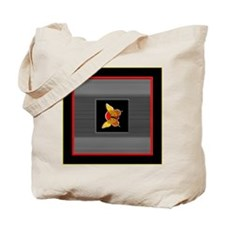 Rising Sun Butterfly  Tote Bag