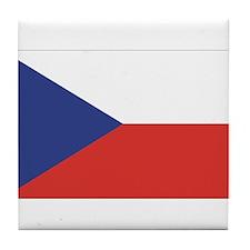 Czech Republic / Czech Flag Tile Coaster