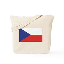 Czech Republic / Czech Flag Tote Bag