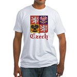 Czech Coat of Arms / Crest Fitted T-Shirt