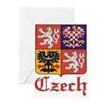 Czech Coat of Arms / Crest Greeting Cards (Package