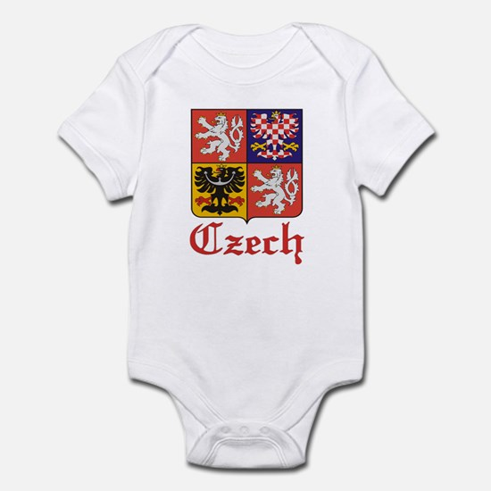 Czech Coat of Arms / Crest Infant Creeper
