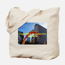 Together Rainbow Tote Bag