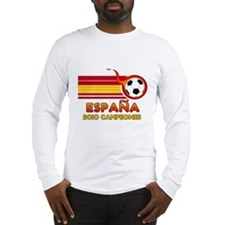 Espana 2010 Campeones Long Sleeve T-Shirt