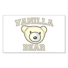 Vanilla Bear Decal