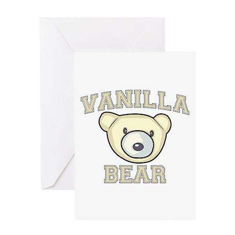 Vanilla Bear Greeting Card