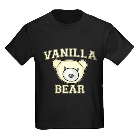 Vanilla Bear Kids Dark T-Shirt