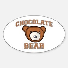 Chocolate Bear Decal