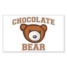 Chocolate Bear Decal