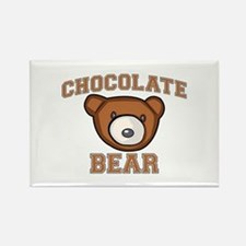 Chocolate Bear Rectangle Magnet