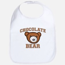 Chocolate Bear Bib
