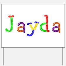 Jayda Balloons Yard Sign