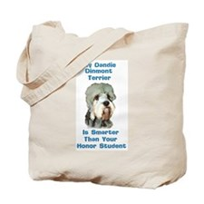 Smart Dandie Dinmont Tote Bag