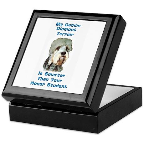 Smart Dandie Dinmont Keepsake Box