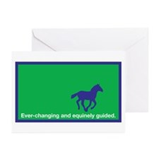 Equinely Guided Greeting Cards (Pk of 10)