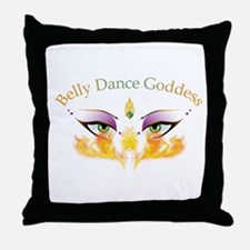 Belly Dance Shimmy Chic Throw Pillow