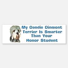 smart dandie dinmont Bumper Bumper Bumper Sticker