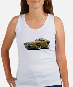 1973-74 Charger Gold Car Women's Tank Top