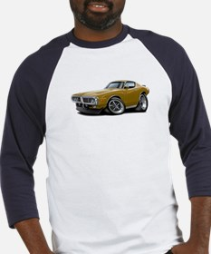 1973-74 Charger Gold Car Baseball Jersey