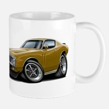 1973-74 Charger Gold Car Mug