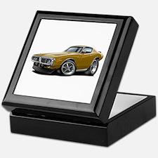 1973-74 Charger Gold Car Keepsake Box