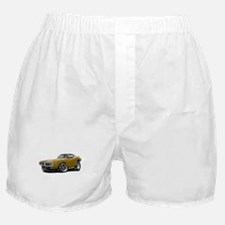 1973-74 Charger Gold Car Boxer Shorts