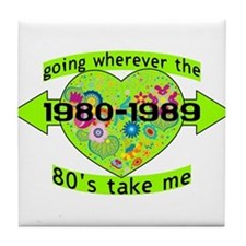 Going With The 80's Tile Coaster