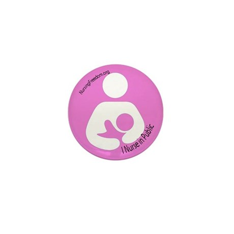 NURSING FREEDOM Mini Button (10 pack)