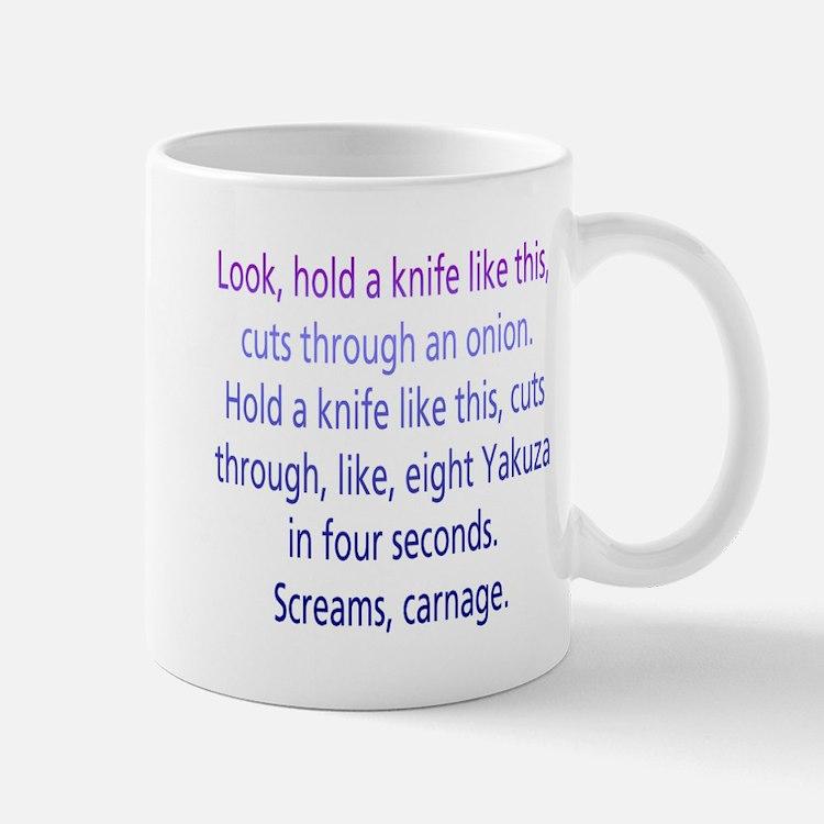Screams, Carnage Small Small Mug