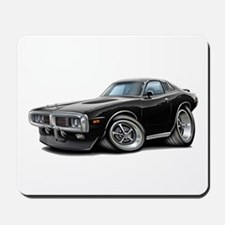Charger Black Opera Top Mousepad