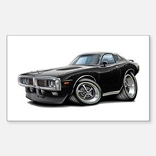 Charger Black Opera Top Decal