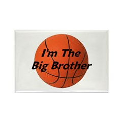 I'm the big brother Rectangle Magnet (100 pack)