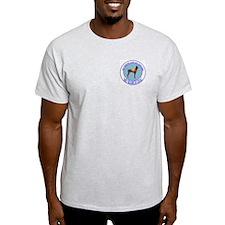 Doberman search dog Ash Grey T-Shirt