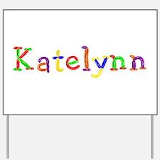 Katelynn Balloons Yard Sign
