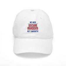 SECURE BORDERS NOT LAWSUITS Baseball Cap