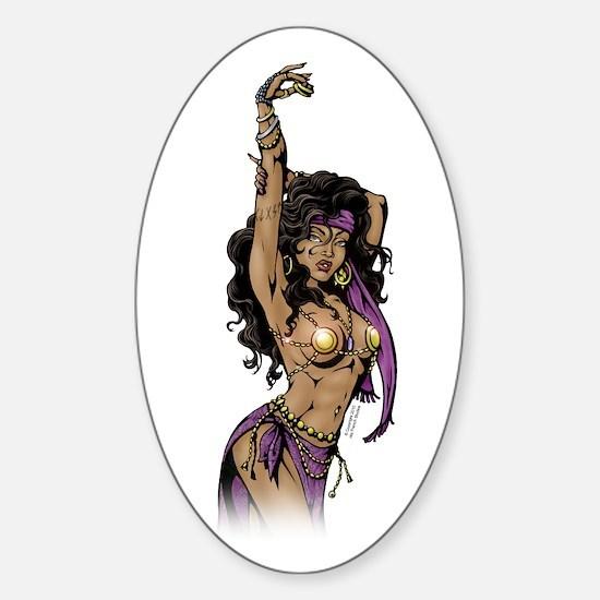 Gypsy Sticker (Oval)