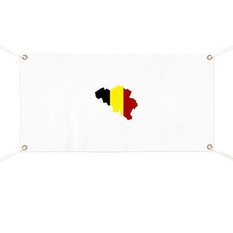 Belgium map Banner