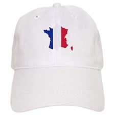 France map Baseball Cap