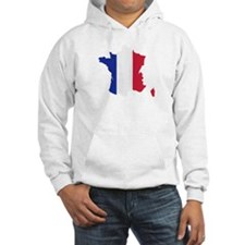 France map Hoodie Sweatshirt